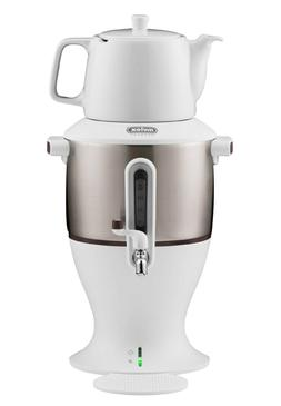 Mulex Electric Samovar With Ceramic Teapot, Electric kettle