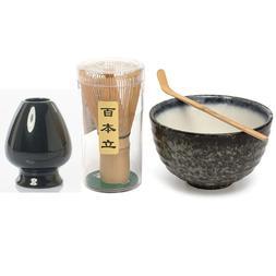 Elegant Traditional Matcha Giftset Natural Bamboo Matcha Whi