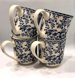 Johnson Brothers England Devon Cottage Coffee/Tea Mugs | Set