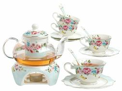 English Afternoon Tea Set Pretty Teacup For Women Pot Adults