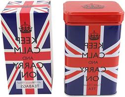 Keep Calm and Carry On English Breakfast and Afternoon Blend