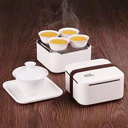 Eternal Chinese Porcelain Style Kung Fu Tea Set Gongfu Tea S