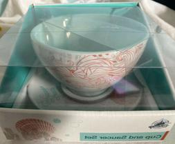 Disney Parks Exclusive Ariel The Little Mermaid Cup and Sauc