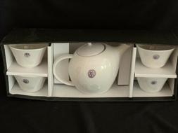 TEAVANA Exclusive Porcelain Teapot 4 Cups Set Japan Miyama W