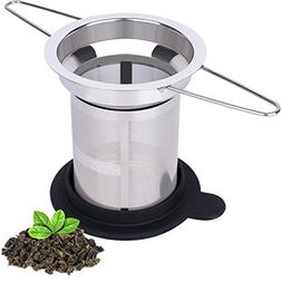 Extra Fine Mesh Tea Infuser by House Again - Fits Standard C