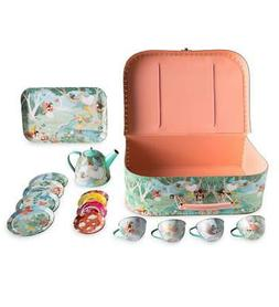Fairy Tin Tea Set for Kids