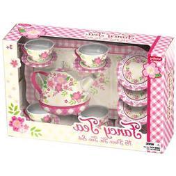 SCHYLLING ~ FANCY TEA TIN TOY TEA SET