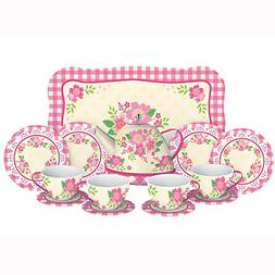 Schylling Fancy Tin Tea Set