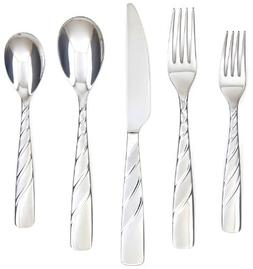 Farberware Wasabi Sand 20-Piece Flatware Set, Service for 4