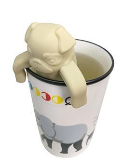 QOCOO 2 Pack FDA Standard Food Grade Silicone Tea Filter Cut