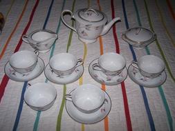 Noritake Fine China Tea Set,  gracias #5792