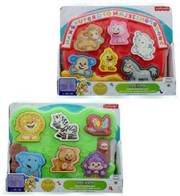 Fisher Price Toddler Laugh & Learn Zoo Farm Animal Match Mak