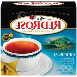 Red Rose Original Flavor Tea Bags, 100-Count