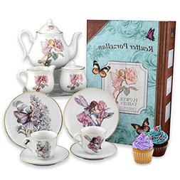 Reutter Porcelain - Story Book Tea Set - Flower Fairies