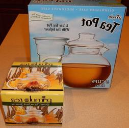 flowering tea set w 40oz blossom teapot