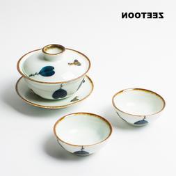 <font><b>Japanese</b></font> Style Ceramic Kung Fu <font><b>