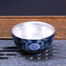 <font><b>Silver</b></font> <font><b>Tea</b></font> Cup 999 <