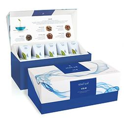 Tea Forté BLEU Presentation Box Tea Sampler, Assorted Varie