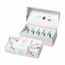 Tea Forté Petite Presentation Box Tea Samplers, Assorted Va
