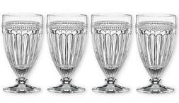 LENOX ~ French Perle ~ Set of 4 Iced Beverage GLASSES ~  Cry
