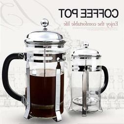 French Press Coffee & Tea Makers 8 Cup 1 liter, 34 oz Stainl