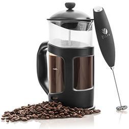 Professional Grade 34 oz French Press Coffee Maker & Premium