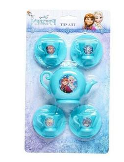 From the Movie Frozen Child's Tea Set Elsa Anna Olaf and Sev