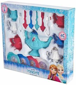 Disney Frozen 26 Piece Dinnerware Tea Set
