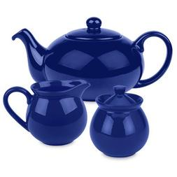 Waechtersbach Fun Factory Tea Set, Royal Blue