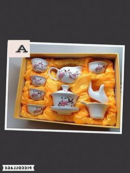 Music City Tea Gaiwan Tea Set Beautiful Set with Happy Bird