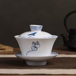 Gaiwan Traditional Gong Fu Cha Teapot for Chinese Tea 180ml