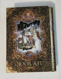 "Basilur Gift Tea Set ""Tea Book # 4"" /Thin metal 100g"
