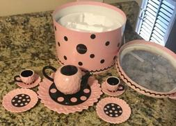 Girls  Mud Pie Tea Set For Two