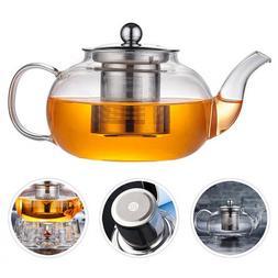 Glass Flower <font><b>Tea</b></font> Pot 600/800/1000ML Infu