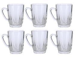 Alpine Cuisine Set of 6 Glass Tea Cups 8 ounces each Turkish