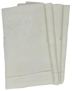 Xia Home Fashions Grapes and Leaves Embroidered Collection C