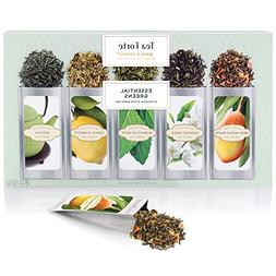 Tea Fort Green Tea Assortment SINGLE STEEPS Loose Leaf Tea S