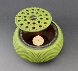 Green Hobnail Small Dot Japanese Cast Iron Tetsubin Teapot W