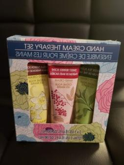Hand Cream Therapy Set, Green Tea, Sweet Berries, Vanilla Pa