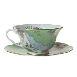 Wedgwood  Harley Quinn butterfly Bloom tea cup and saucer gr