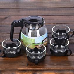 heat resistant glass teapot font b set