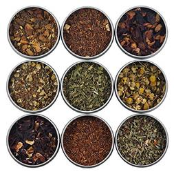 Heavenly Tea Leaves Herbal Tea Sampler, 9 Count - Naturally