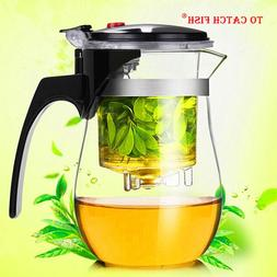 High quality Heat Resistant Glass Teapot Chinese kung fu <fo