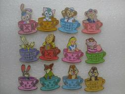 HKDL HK Disney Mad Hatter Tea Cup Mystery Full Set Pin - Duf