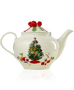 Lenox Holiday Inspirations and Illustrations 64 oz. China Te