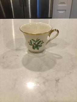 Lenox Holiday Tea Cups - Set of 6