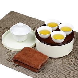 Hoobar Chinese Style Kung Fu Tea Set / Mini Gongfu Tea Servi