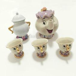 Hot sale Cartoon Beauty And The Beast Tea Set