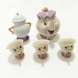 Hot Sale New Cartoon Beauty And The Beast Teapot Mug Mrs Pot