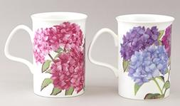 Hydrangea Mug Set Of 2 by Roy Kirkham